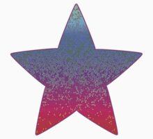 Glitter Star Dust One Piece - Long Sleeve