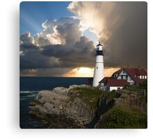 Lookout Lighthouse Canvas Print
