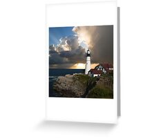 Lookout Lighthouse Greeting Card