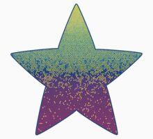 Glitter Star Dust One Piece - Short Sleeve