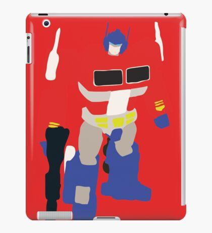 Optimus Prime Blocky iPad Case/Skin