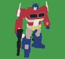 Optimus Prime Blocky Kids Tee