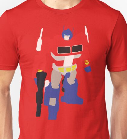 Optimus Prime Blocky Unisex T-Shirt