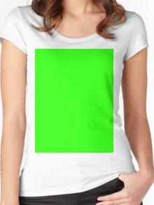 Green Screen Women's Fitted Scoop T-Shirt