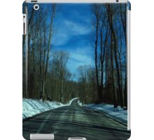 On The Road - winter driving (2016) iPad Case/Skin