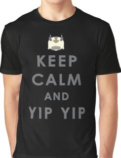 Keep Calm And Yip Yip! Graphic T-Shirt