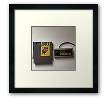 Saturday Morning Fun Framed Print