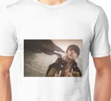 Young Mordred looks to the future Unisex T-Shirt