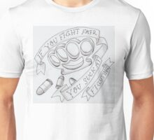 brass knuckles Unisex T-Shirt
