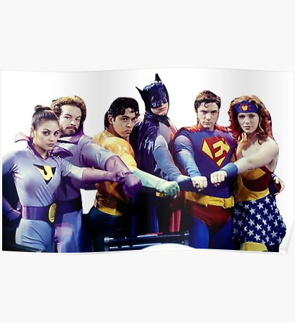 That 70's Show - Super Heroes Poster