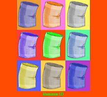 The Warhol Wanderer: Aluminum Unisex T-Shirt
