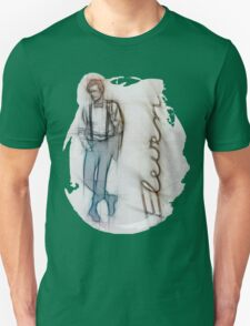 The Eleventh Doctor in Pencil Sketch T-Shirt