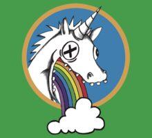 Drunk Unicorns Make Rainbows! One Piece - Short Sleeve