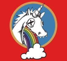 Drunk Unicorns Make Rainbows! Kids Tee