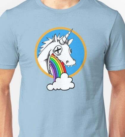 Drunk Unicorns Make Rainbows! Unisex T-Shirt