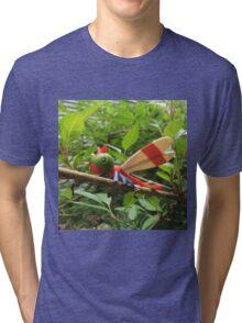 A Wild Yanma Appears! Tri-blend T-Shirt