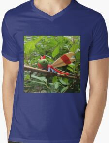 A Wild Yanma Appears! Mens V-Neck T-Shirt