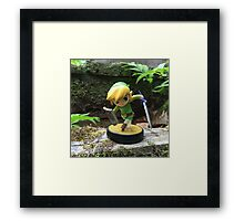 Link Explores the Forest Temple Framed Print