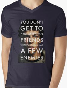 The Social Network Mens V-Neck T-Shirt