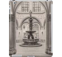 Indoor fountain iPad Case/Skin