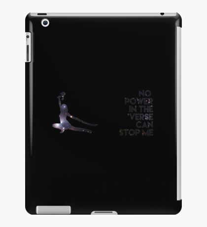 River Tam - No Power in the 'Verse (Version B) iPad Case/Skin