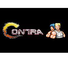 Contra Logo Photographic Print