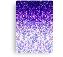 Glitter Dust Background Canvas Print
