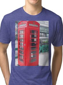 Telephone Booth Tri-blend T-Shirt