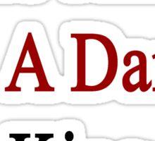 Who Am I? I'm A Danish King  Sticker