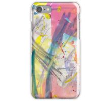 Pretty abstract paint/ink  iPhone Case/Skin