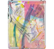 Pretty abstract paint/ink  iPad Case/Skin