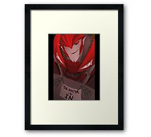 Knock Out - The Doctor is In Framed Print