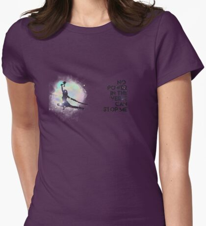 River Tam - No Power in the 'Verse (Colorful Cosmos) Womens Fitted T-Shirt