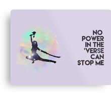 River Tam - No Power in the 'Verse (Colorful Cosmos) Metal Print