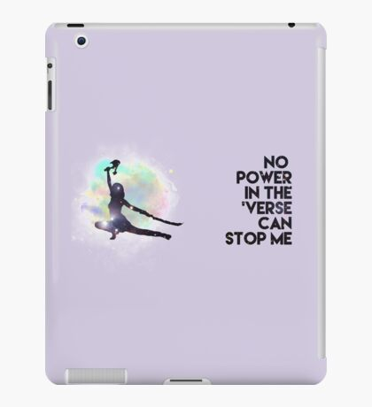 River Tam - No Power in the 'Verse (Colorful Cosmos) iPad Case/Skin