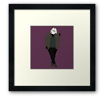 Plus Size Halloween - Friday the 13th Framed Print