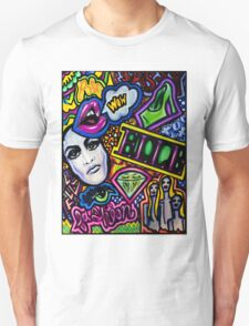 Pop art Doodle Unisex T-Shirt