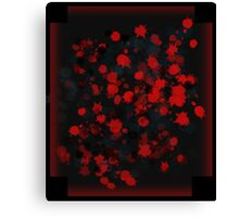 Blood Canvas Print