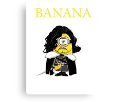 Banan is coming Canvas Print