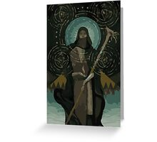 Solas Tarot Card 2 Greeting Card
