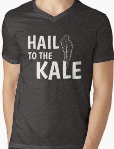 Hail To The Kale Tee! Mens V-Neck T-Shirt