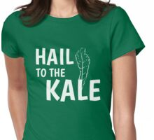 Hail To The Kale Tee! Womens Fitted T-Shirt