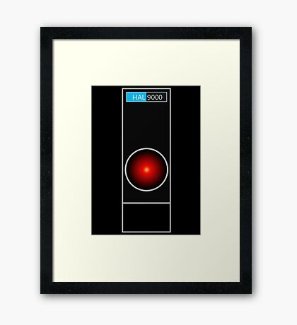 Hal 9000 Framed Print