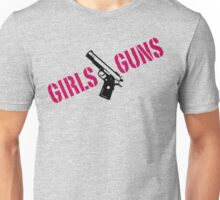 Girls & Guns Unisex T-Shirt