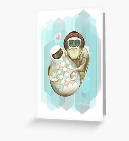 Zelda Yeti Valentine Greeting Card