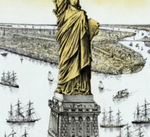 Vintage Statue of Liberty  Sticker