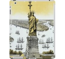 Vintage Statue of Liberty  iPad Case/Skin
