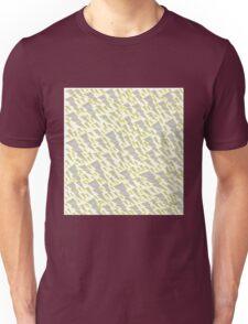 grey and yellow lightning bolt  Unisex T-Shirt