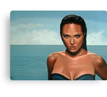 Angelina Jolie painting Canvas Print