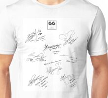Girls' Generation (SNSD) Signature/Autograph Unisex T-Shirt